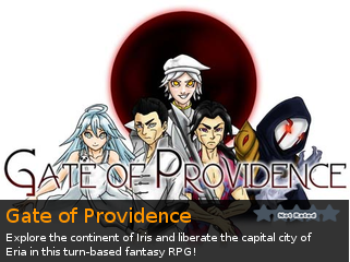 Gate of Providence, an indie Adventure RPG game for RPG Maker VX Ace