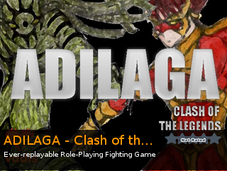 ADILAGA - Clash of the Legends, an indie RPG game for RPG Maker VX Ace