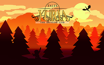 Tales of Yuria: The Dragon God, an indie Adventure RPG game for RPG