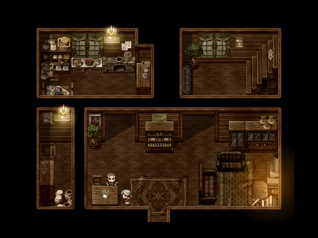 Rpg Maker Music Room Tileset
