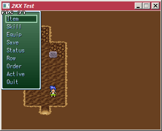 [2k3] Rpg Maker 20XX Menu