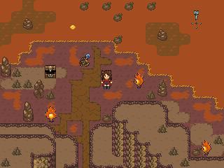 Drekirökr - El atardecer del dragón Cave_screen_with_encounters
