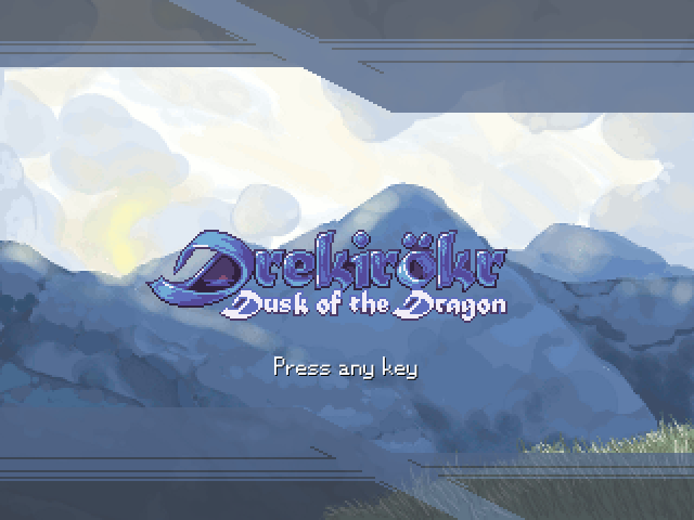 [RPG Maker XP] Drekirökr - Atardecer del Dragón New_title