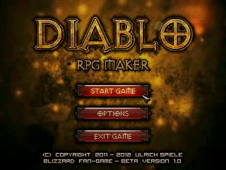 Diablo - RPG Maker Images :: New Title Screen  :: rpgmaker net