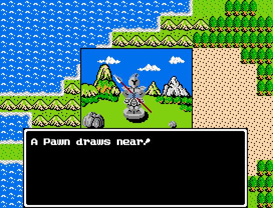 Battle Command List Rpgmaker Net: Dragon Warrior Classic Images :: Revised Battle Screen