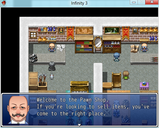 Infinity 3, an indie Simulation RPG game for RPG Maker VX