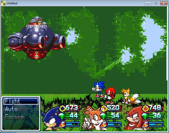 Sonic RPG: Legend of the Seven Emeralds Images :: Sonic 9