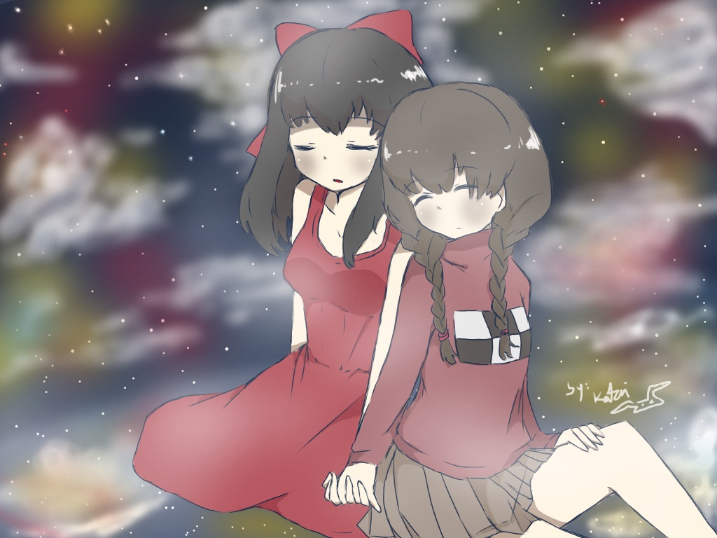 Dear RED Images :: It's Red and Madotsuki :0 (Fanart by Choulaphone) :: rpgmaker.net