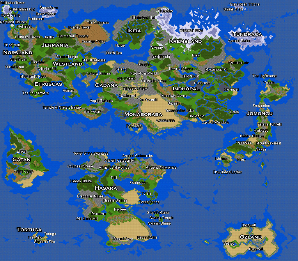 Hero 39 s Realm Worldmap