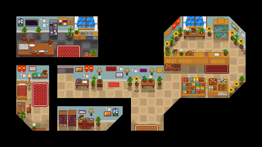 Peaceful Days Images :: More testing on new tileset