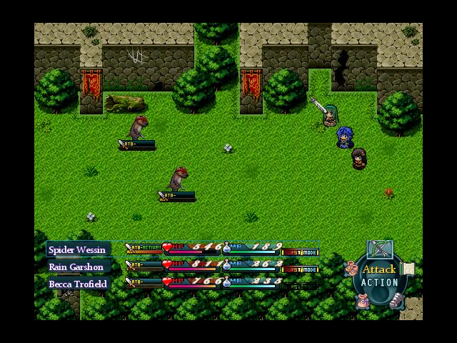 Glacia: Chapter One v2.2 (Completed)  Battle_Hud