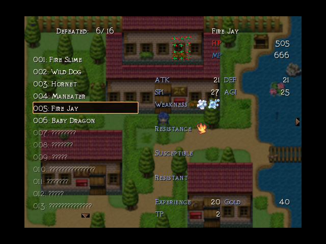 Glacia images beastery for Apartment 412 rpg maker