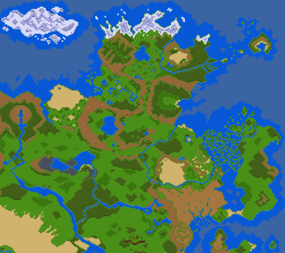 Kentonia Images :: World Map :: rpgmaker.net
