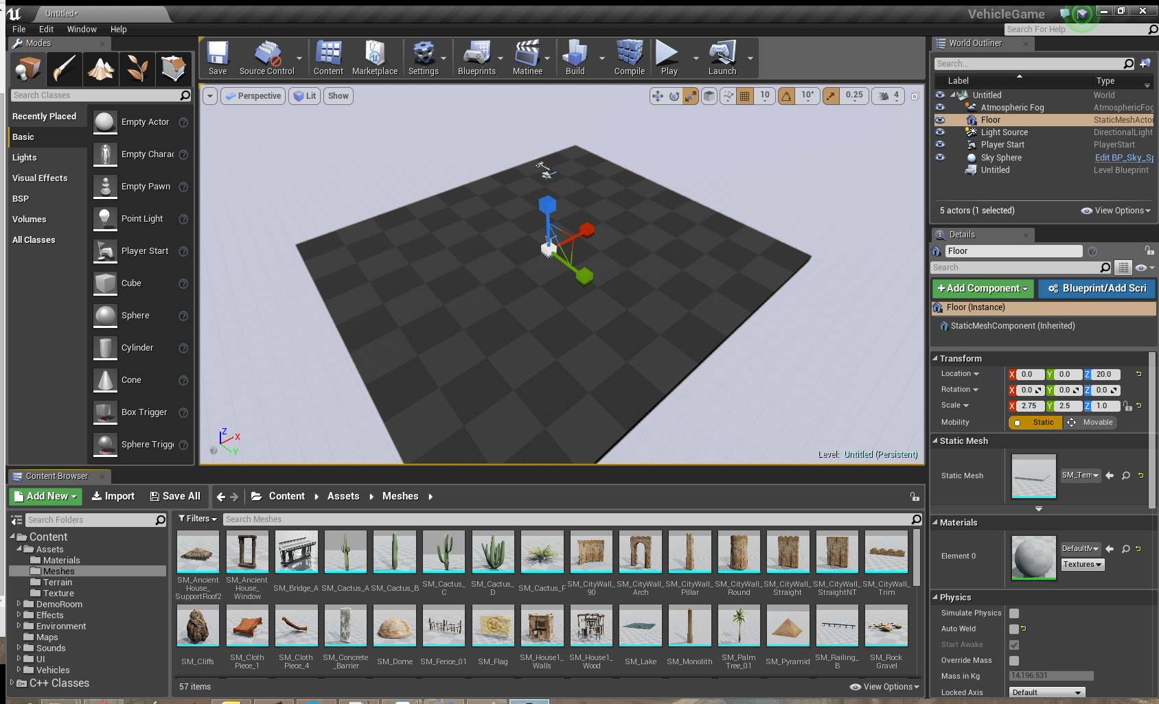 Getting Started: Your First UE4 Map :: rpgmaker net