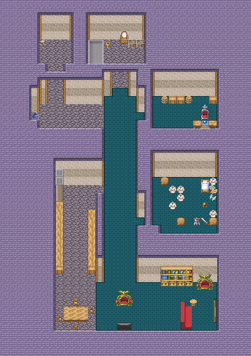 Map your life topic for Apartment 412 rpg maker