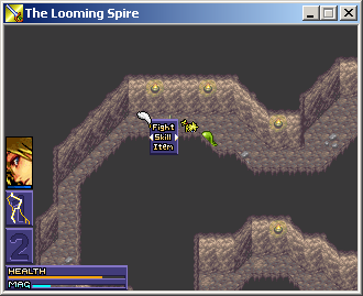 The Looming Spire, an indie Adventure Puzzle RPG game for