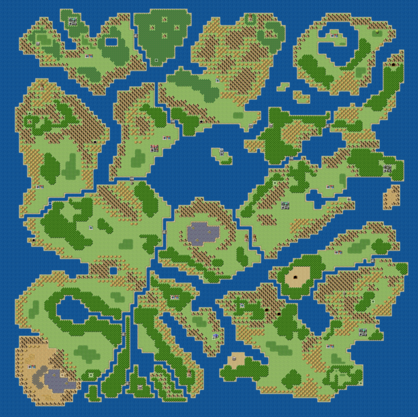 Isrieris Terrible Mapping Topic Rpgmakernet - Little big world map