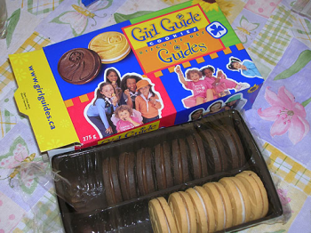 Girl Guide Cookies, Which Is Your Favorite: Chocolate, Vanilla Or