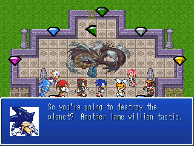 Sonic and the Chaos Dragons Review by Addit :: rpgmaker net