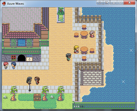 Azure waves review by fomar0153 rpgmaker i wish i could make my game look so pretty publicscrutiny Gallery