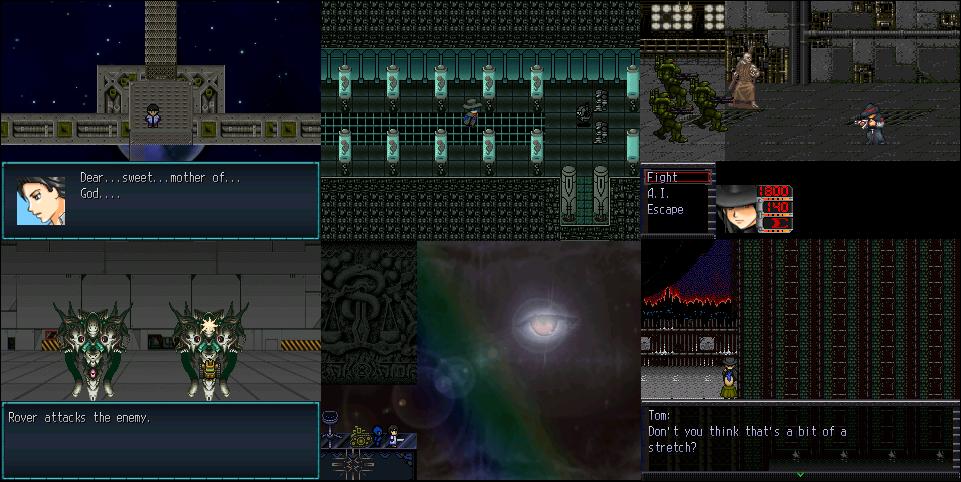 Made With: Rpg Maker 2000/3. Gamepages: Iron Gaia, Iron Gaia:Virus