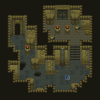 Mapping Tutorial Dungeon Hall