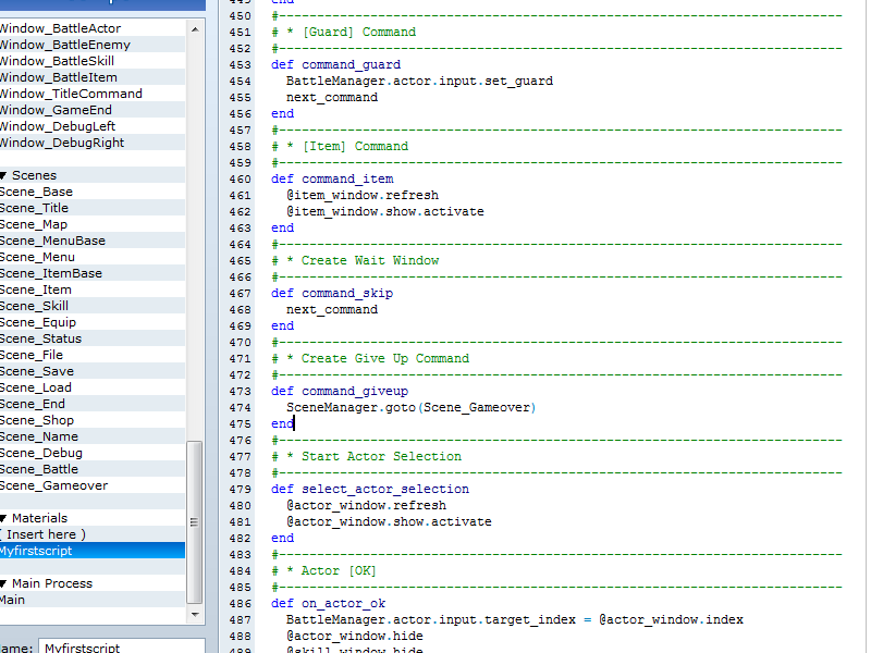 Creating a skip command in combat :: rpgmaker net