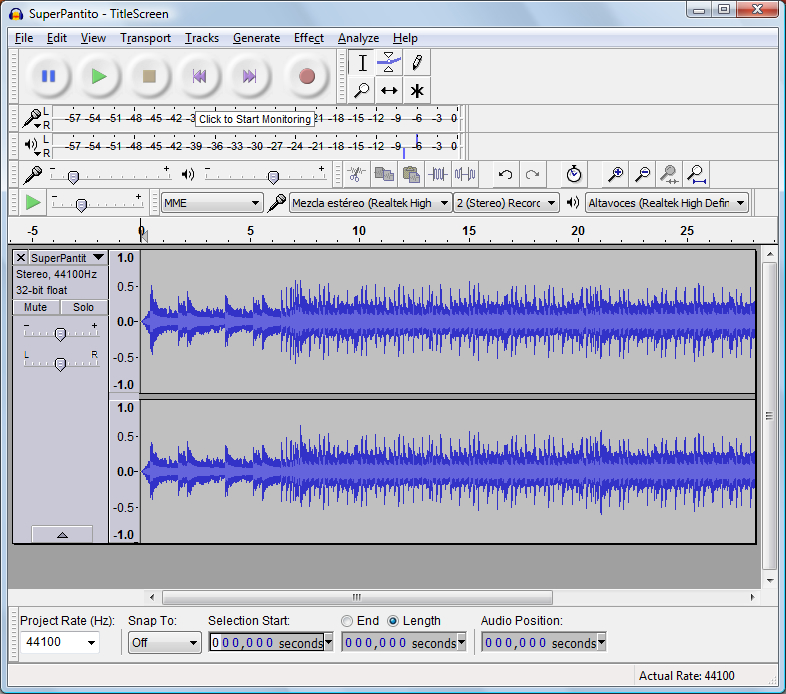 how to loop audio in audacity