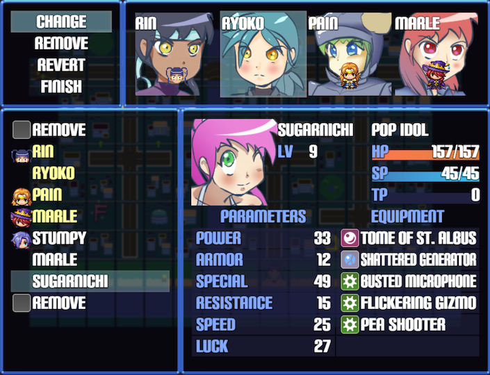 Hero Hero Panic, an indie RPG game for RPG Maker MV :: rpgmaker net