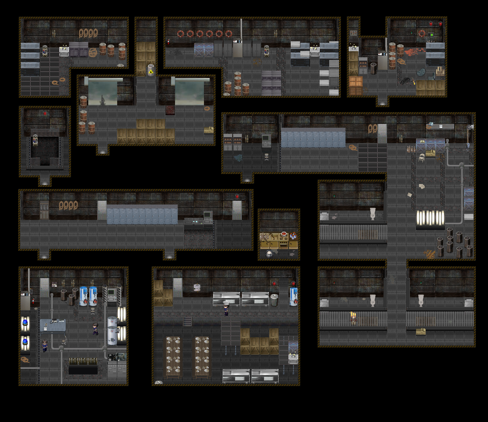 Prison architect blueprints related keywords prison for Blue print creator