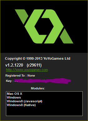 steam game maker studio license key